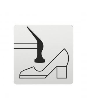 FSB Hinweiszeichen Schuhmacher Lasergraviert Aluminium naturfarbig (0 36 4059 00735 0105)