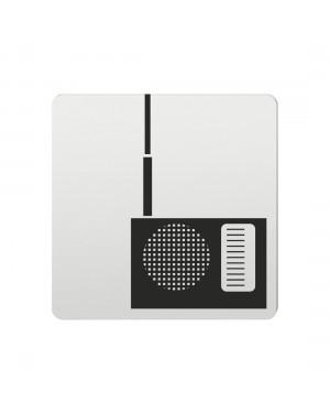 FSB Hinweiszeichen Unterhaltungselektrogeraete Lasergraviert Aluminium naturfarbig (0 36 4059 00752 0105)