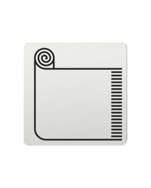 FSB Hinweiszeichen Teppiche Lasergraviert Aluminium naturfarbig (0 36 4059 00761 0105)