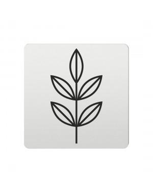 FSB Hinweiszeichen Pflanzen Lasergraviert Aluminium naturfarbig (0 36 4059 00772 0105)