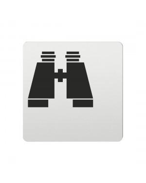 FSB Hinweiszeichen Optik Lasergraviert Aluminium naturfarbig (0 36 4059 00783 0105)