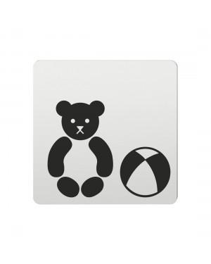 FSB Hinweiszeichen Spielwaren Lasergraviert Aluminium naturfarbig (0 36 4059 00786 0105)