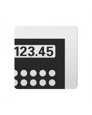 FSB Hinweiszeichen Kasse Lasergraviert Aluminium naturfarbig (0 36 4059 00790 0105)