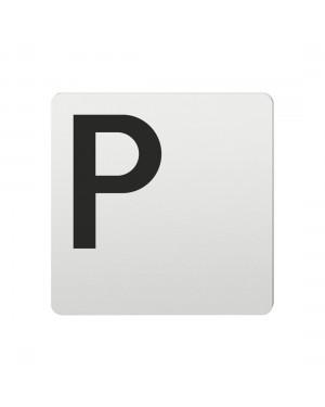 FSB Hinweiszeichen Parkplatz Lasergraviert Aluminium naturfarbig (0 36 4059 00800 0105)