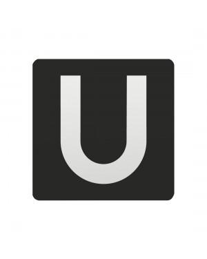 FSB Hinweiszeichen U-Bahn Lasergraviert Aluminium naturfarbig (0 36 4059 00812 0105)