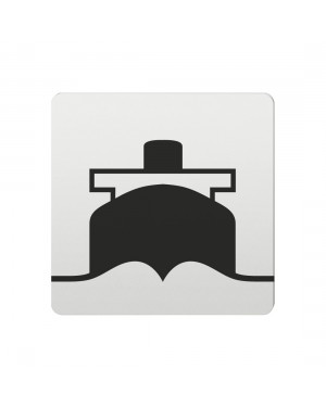FSB Hinweiszeichen Hafen Lasergraviert Aluminium naturfarbig (0 36 4059 00822 0105)