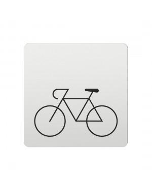 FSB Hinweiszeichen Fahrrad Lasergraviert Aluminium naturfarbig (0 36 4059 00840 0105)