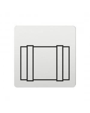FSB Hinweiszeichen Fracht Lasergraviert Aluminium naturfarbig (0 36 4059 00860 0105)