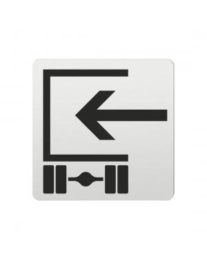 FSB Hinweiszeichen Beladen Lasergraviert Aluminium naturfarbig (0 36 4059 00861 0105)