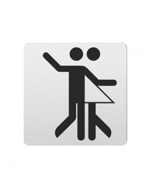 FSB Hinweiszeichen Tanzsport Lasergraviert Aluminium naturfarbig (0 36 4059 01105 0105)