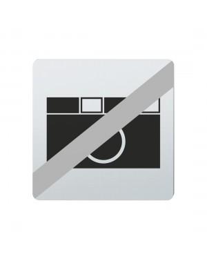FSB Hinweiszeichen Fotografieren verboten Lasergraviert Edelstahl fein matt (0 36 4059 00034 6204)