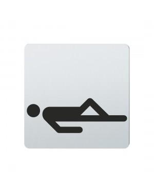 FSB Hinweiszeichen Ruheraum Lasergraviert Edelstahl fein matt (0 36 4059 00120 6204)