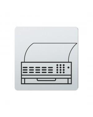 FSB Hinweiszeichen Telefax Lasergraviert Edelstahl fein matt (0 36 4059 00201 6204)