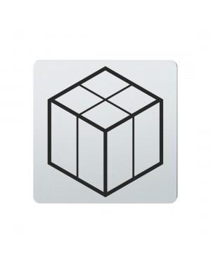 FSB Hinweiszeichen Paket Lasergraviert Edelstahl fein matt (0 36 4059 00211 6204)