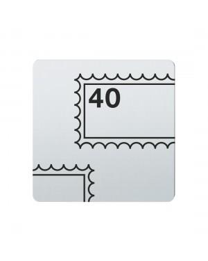 FSB Hinweiszeichen Briefmarken Lasergraviert Edelstahl fein matt (0 36 4059 00212 6204)