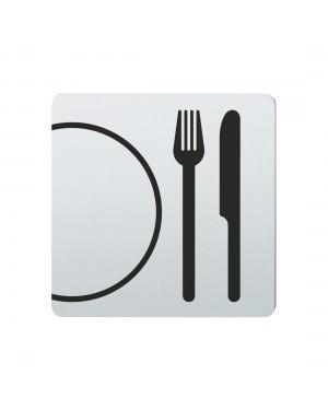 FSB Hinweiszeichen Restaurant Lasergraviert Edelstahl fein matt (0 36 4059 00310 6204)