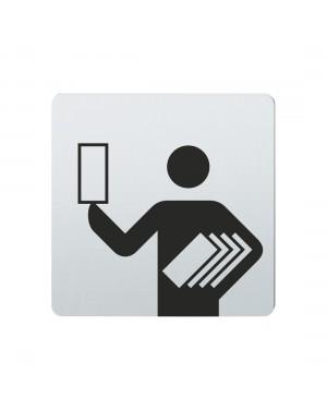 FSB Hinweiszeichen Programmhefte Lasergraviert Edelstahl fein matt (0 36 4059 00335 6204)