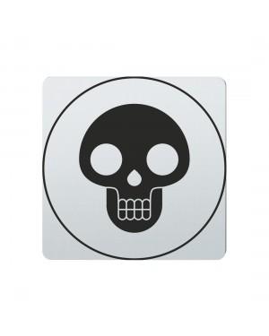 FSB Hinweiszeichen Lebensgefahr Lasergraviert Edelstahl fein matt (0 36 4059 00410 6204)