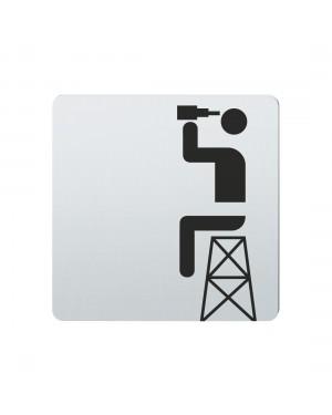 FSB Hinweiszeichen Rettungswache Lasergraviert Edelstahl fein matt (0 36 4059 00435 6204)