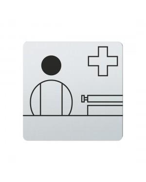 FSB Hinweiszeichen Anmeldung Lasergraviert Edelstahl fein matt (0 36 4059 00511 6204)