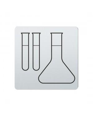 FSB Hinweiszeichen Labor Lasergraviert Edelstahl fein matt (0 36 4059 00514 6204)