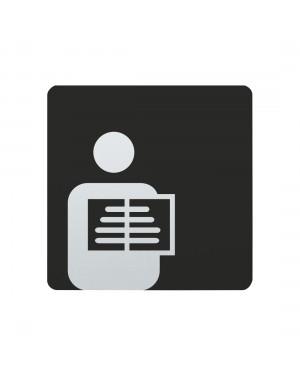 FSB Hinweiszeichen Roentgenstation Lasergraviert Edelstahl fein matt (0 36 4059 00516 6204)
