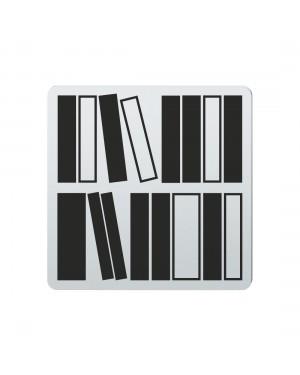 FSB Hinweiszeichen Bibliothek Lasergraviert Edelstahl fein matt (0 36 4059 00632 6204)