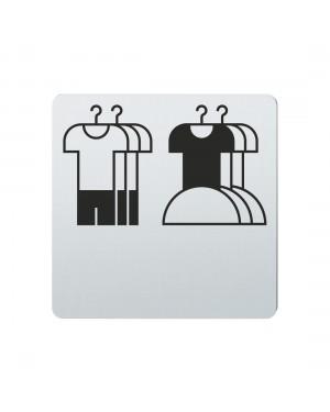 FSB Hinweiszeichen Kinderbekleidung Lasergraviert Edelstahl fein matt (0 36 4059 00732 6204)