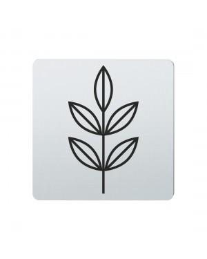 FSB Hinweiszeichen Pflanzen Lasergraviert Edelstahl fein matt (0 36 4059 00772 6204)