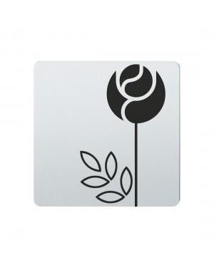 FSB Hinweiszeichen Blumen Lasergraviert Edelstahl fein matt (0 36 4059 00773 6204)