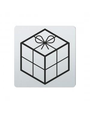 FSB Hinweiszeichen Geschenke Lasergraviert Edelstahl fein matt (0 36 4059 00780 6204)