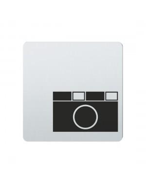 FSB Hinweiszeichen Fotoartikel Lasergraviert Edelstahl fein matt (0 36 4059 00784 6204)