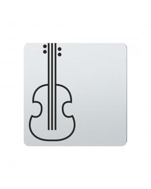 FSB Hinweiszeichen Musikinstrumente Lasergraviert Edelstahl fein matt (0 36 4059 00787 6204)