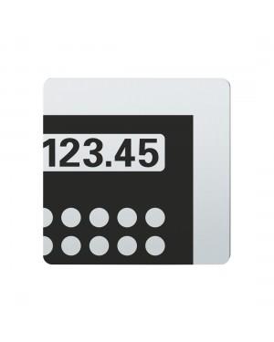FSB Hinweiszeichen Kasse Lasergraviert Edelstahl fein matt (0 36 4059 00790 6204)
