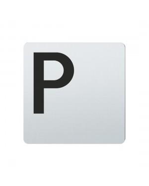 FSB Hinweiszeichen Parkplatz Lasergraviert Edelstahl fein matt (0 36 4059 00800 6204)
