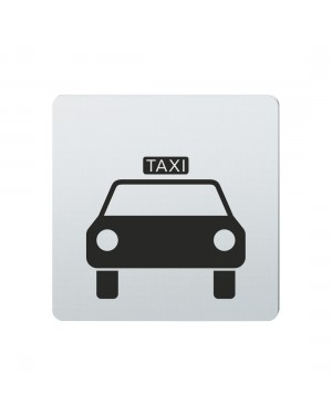 FSB Hinweiszeichen Taxi Lasergraviert Edelstahl fein matt (0 36 4059 00814 6204)