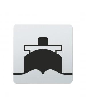 FSB Hinweiszeichen Hafen Lasergraviert Edelstahl fein matt (0 36 4059 00822 6204)