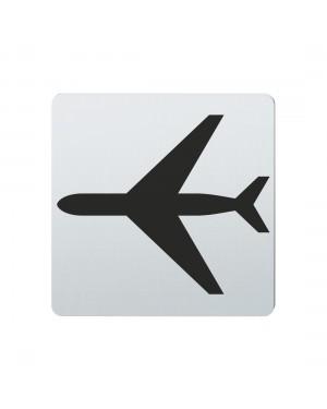 FSB Hinweiszeichen Flughafen Lasergraviert Edelstahl fein matt (0 36 4059 00830 6204)