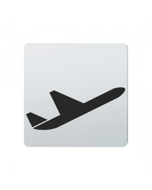 FSB Hinweiszeichen Abflug Lasergraviert Edelstahl fein matt (0 36 4059 00832 6204)