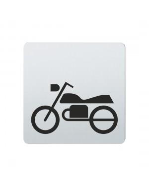 FSB Hinweiszeichen Motorrad Lasergraviert Edelstahl fein matt (0 36 4059 00841 6204)