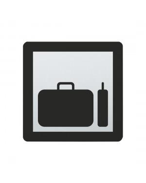FSB Hinweiszeichen Gepaeckraum Lasergraviert Edelstahl fein matt (0 36 4059 00853 6204)