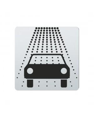 FSB Hinweiszeichen Waschanlage Lasergraviert Edelstahl fein matt (0 36 4059 00886 6204)