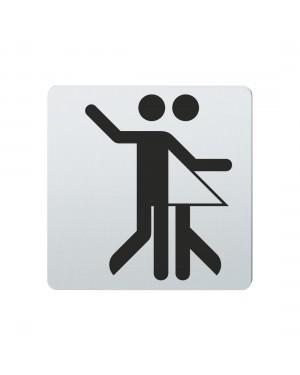 FSB Hinweiszeichen Tanzsport Lasergraviert Edelstahl fein matt (0 36 4059 01105 6204)