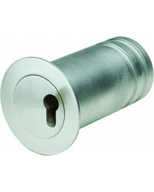 ASSA ABLOY Mini-Tresor Mit Kragen zur Abdeckung des Bohrlochs - vorgerichtet für Profil-Halbzylinder (9M38 45207)