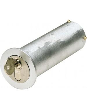 ASSA ABLOY Mini-Tresor Mit Kragen zur Abdeckung des Bohrlochs - mit Profil-Halbzylinder (9M39 45212)