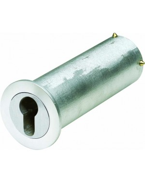 ASSA ABLOY Mini-Tresor Mit Kragen zur Abdeckung des Bohrlochs - vorgerichtet für Profil-Halbzylinder (9M39 45211)