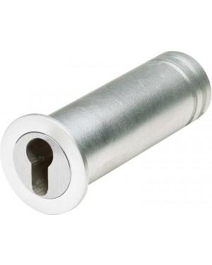 ASSA ABLOY Mini-Tresor Mit Kragen zur Abdeckung des Bohrlochs - vorgerichtet für Profil-Halbzylinder (9M40 45213)