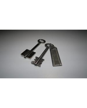 Protectorschlüssel 90mm schrägem Einschnitt, geradem Einschnitt, und Quernut