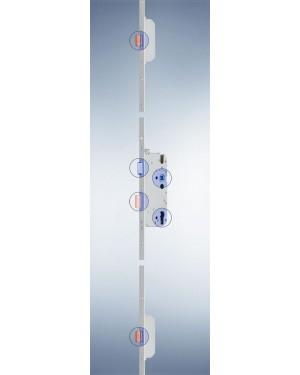 GU - Mehrfachverriegelung - Secury MR 2 mit 2 Massivriegel - 92 - 80 - 10 - 1050 - F20x2285x3