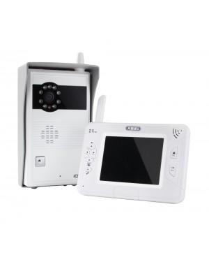 ABUS Video Türsprechanlage Funk mit Videofunktion für Innen- und Außenbereich Komplettanlage (Art.-Nr. TVAC80020A)